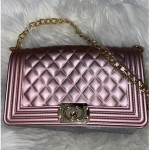 Rose Gold Jelly Bag